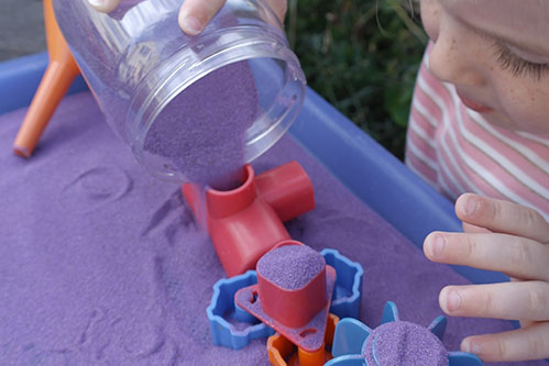 Safari Sand Purple Coloured Sand for Children