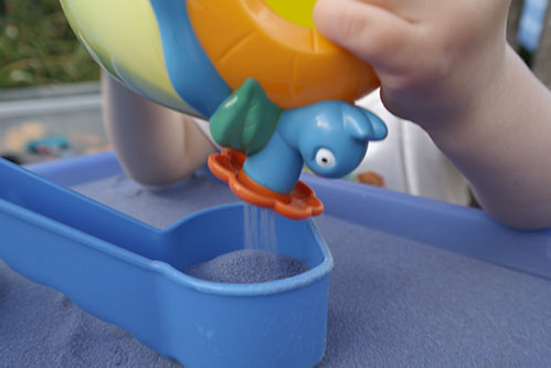 Safari Sand Blue Coloured Sand for Children