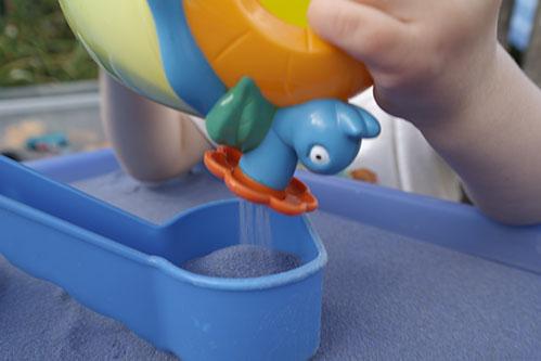 Safari Sand Blue Coloured Sand for Children
