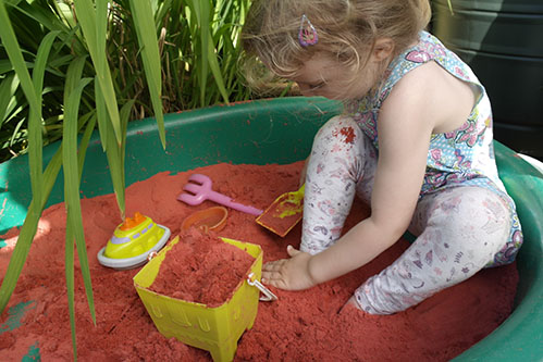 Safari Sand Red Coloured Sand for Children