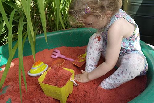 Safari Sand Red Coloured Sand for Children